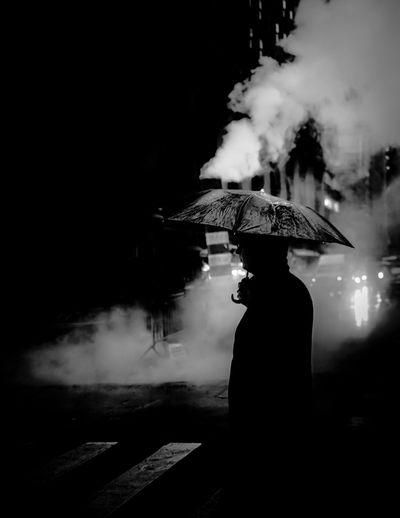 Umbrella New York Streetphotography Blackandwhite EyeEm Selects