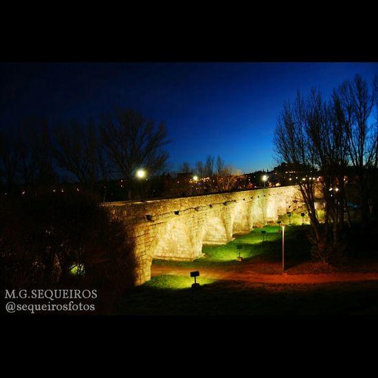 Salamanca Nightphotography Best Moment Bridge Salamanca