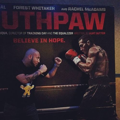 "Billy ""the Great"" versus ""El Congero"" Feelthedrums Bangonthemdrums Southpaw Southpawmovie"