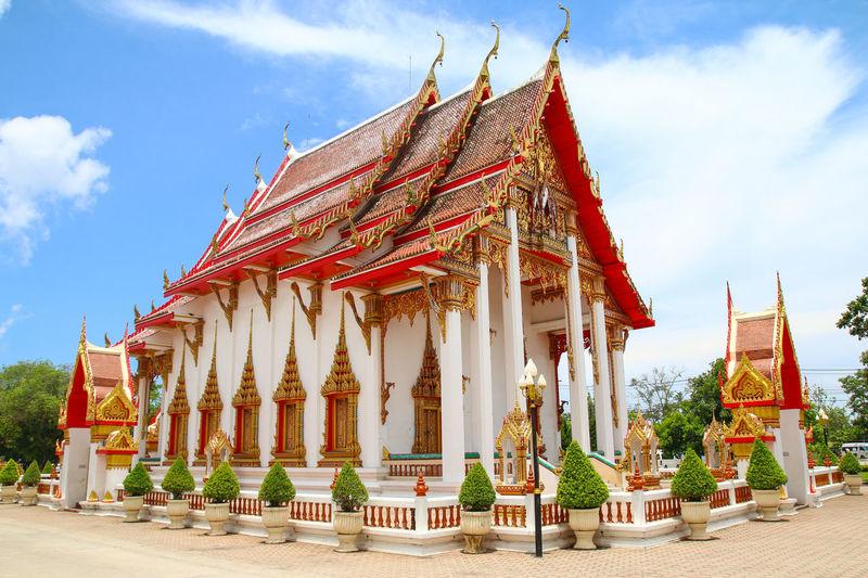 Architecture ASIA Buddhism Chalong Landmark Phuket Temple Thailand Tour Tourism Travel Wat