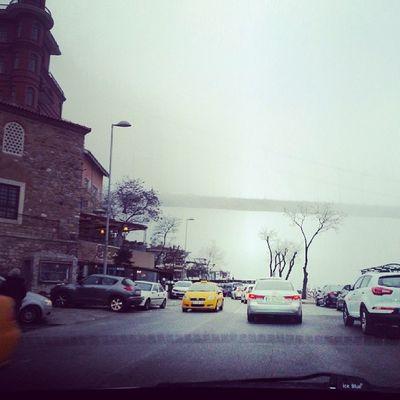Istanbul Bosphorus Fog Borusan cars instagram popular like follow nature photograph