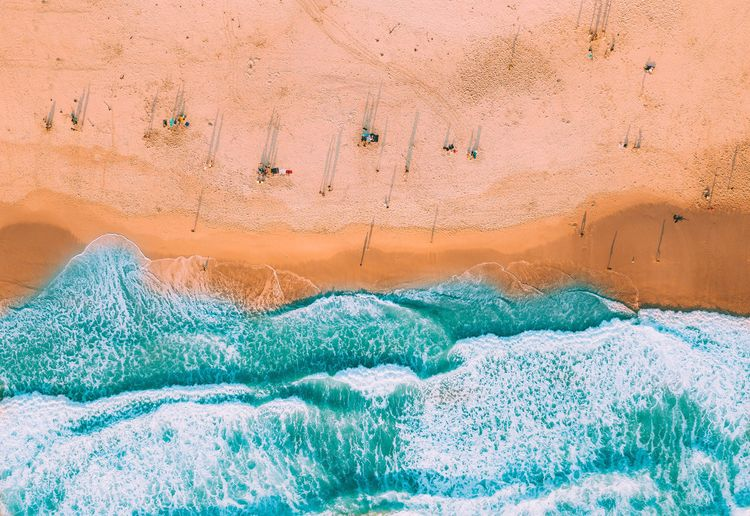 People Sea Water Nature EyeEm Selects Blue Outdoors Beauty In Nature Travel Destinations Cape Town Wave EyeEmPaid Drone  Aerial View