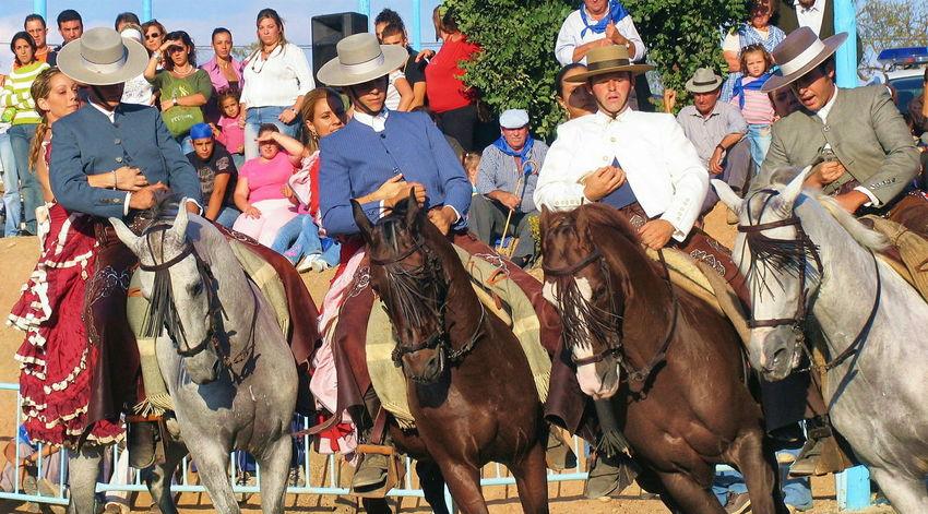 Hold on tight! Spanish Horses Colour Of Life Horse Display Andalusian Horse Feria Festival Season Andalucia Spain Andalucia Rural Awehaven's Andalucia