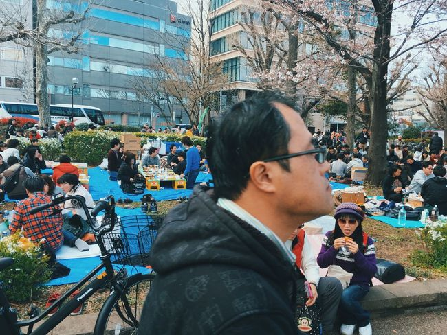 EyeEmNewHere Real People Women Lifestyles City Tree Leisure Activity Land Vehicle Outdoors Men City Life Architecture Day Large Group Of People Smiling IPhoneography Iphonephotography Street Style Public Transportation Japanese  Japan Photography Tokyo Cityscape People Urbanphotography