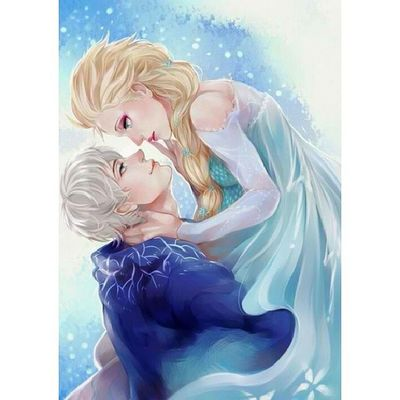 Been watching these 2 movies since last night. Pwede!! JackFrost Riseoftheguardians Elsa Frozen