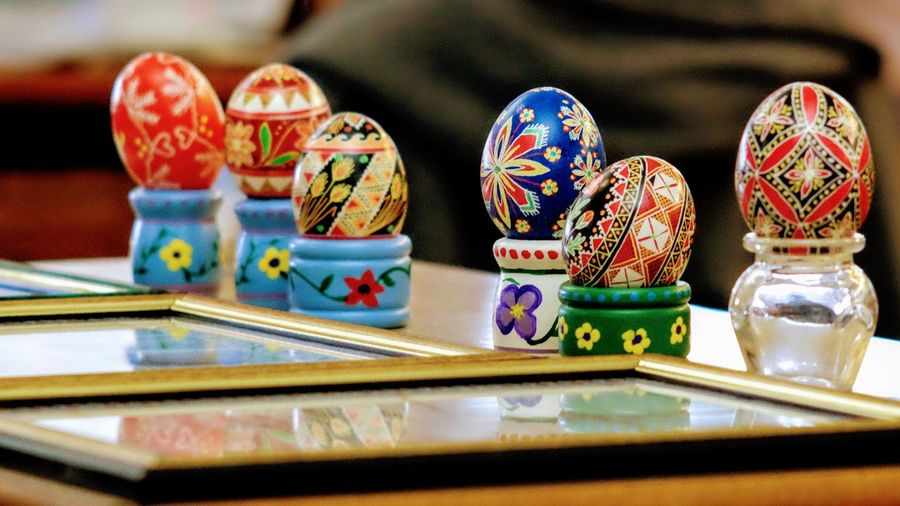 56th Annual National Czech Festival - Saturday August 5, 2017 Wilber, Nebraska Camera Work Easter Eggs EventPhotography Nebraska Photo Essay Small Town America Storytelling Ukrainian Easter Egg Visual Journal Wilber, Nebraska Chance Close-up Culture And Tradition Czech Days Czech Festival Day Fujifilm_xseries Indoors  Kraslica Multi Colored No People Parade Photo Diary Pysanka Pysanky Eggs Small Town Life Table
