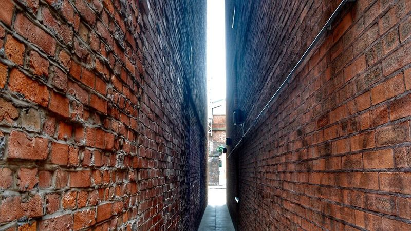 There's always light. The Innovator Brick Wall Walls Light At The End Tight Squeeze Small Spaces EyeEm Gallery Brickwall Light And Shadow EyeEm Mind The Gap Creative Light And Shadow Creative Photography Eye4photography  Urban Geometry Urban Landscape EyeEm Best Shots Alleys Back Street Backstreets & Alleyways Getty X EyeEm Manchester Check This Out