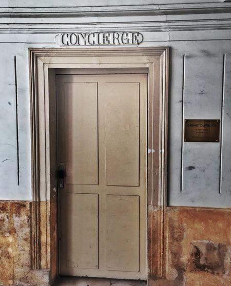 Concierge! Door Entrance Paris B&Bs Grand Adventure Detail