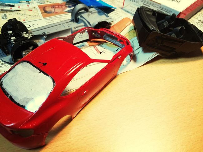 Plamodel Car もう少しで完成…