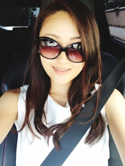 Hello Eyeem :) Hello EyeEm That's Me Selfie ✌ Summer Girl AllInWhite Summerdress Love Driving