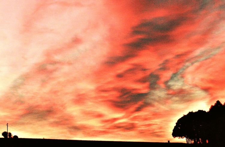Saarland Sunset Himmel Heaven Nature