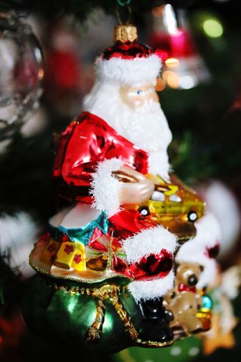 Christmas vibes Christmas Tradition Christmas Decoration Celebration Hanging Christmas Tree Decoration Christmas Ornament Celebration Event No People Holiday - Event Illuminated Cultures Indoors  Close-up Night Focus On Foreground Bauble Multi Colored Vacations