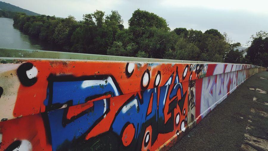 tags on the bridge Multi Colored Street Art Spray Paint Art The Street Photographer - 2018 EyeEm Awards Art And Craft