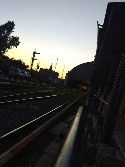 Nadie elige de que se enamora Riel Estación De Tren Retiro