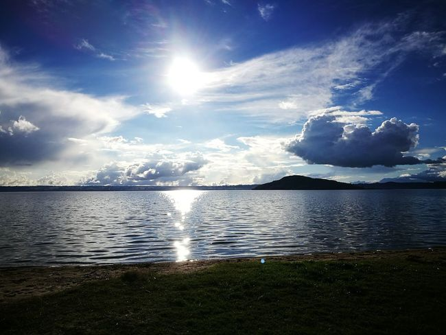 Water Sea lake Reflection Nature Sunlight Blue Sky Scenics Horizon Over Water Tranquil Scene Landscape Tranquility No People Beauty In Nature Outdoors Day water clouds