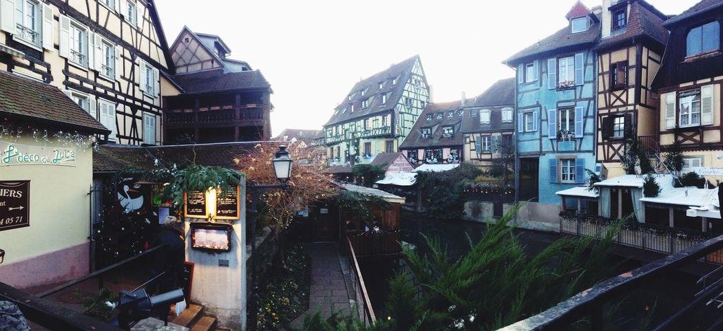 Alsace Maison à Colombages Colmar Taking Photos House