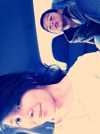 With Brother C: