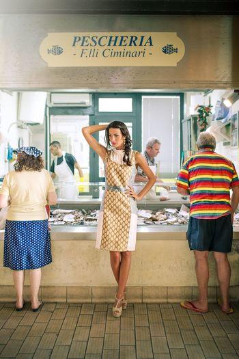 Italian fashion style, a day in a market Fashion Fashion Photography Italianfashion Italianstyle Wilsonsantinelli Photography First Eyeem Photo Woman Mood Style Fashionblogger Marcheregion Italy Pastel Power