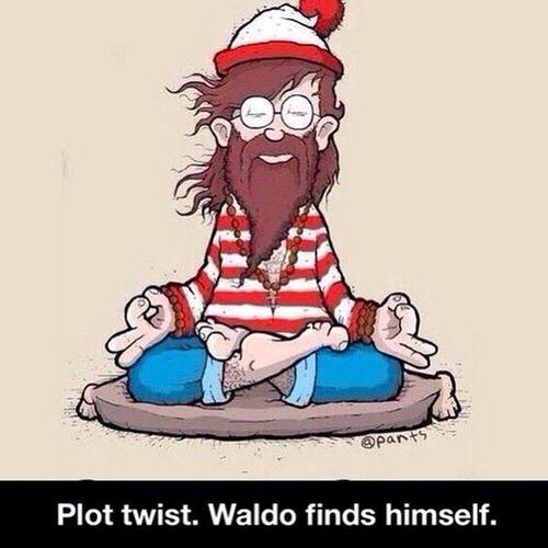 Where's Waldo? ✌️✌️