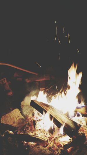 Friday night fire fight. Camping Relaxing First Eyeem Photo
