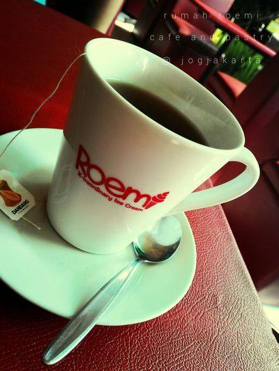 Hi! Hello World Tea Time Relaxing Enjoying Life Jogjakarta Central Java, Indonesia.