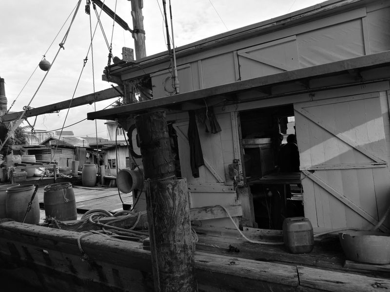 Sky Outdoors Day The Great Outdoors - 2017 EyeEm Awards EyeEm Nature Lover Live For The StoryBuilt_Structure The Street Photographer - 2017 EyeEm Awards No People Black And White Beach Boat Fishermenboat Fisher Boats Fishermanvillage Fisherman Boat Fishermanslife Fishermenvillage Fisherboats  Balck And White Let's Go. Together. EyeEmNewHere