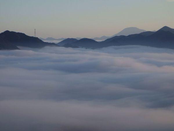 雲海 空 雲 山