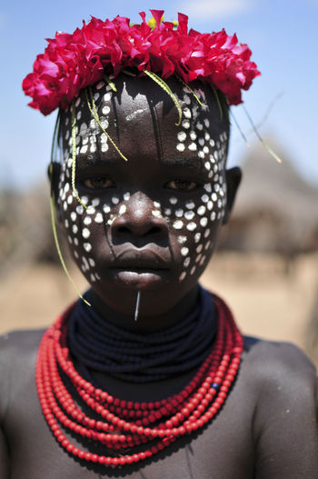 Ethiopia Ethiopian Photography 🇪🇹 Omo Valley Travel Photography Africa Facepainting Key Afer Looking At Camera Mursi Necklace Omo River
