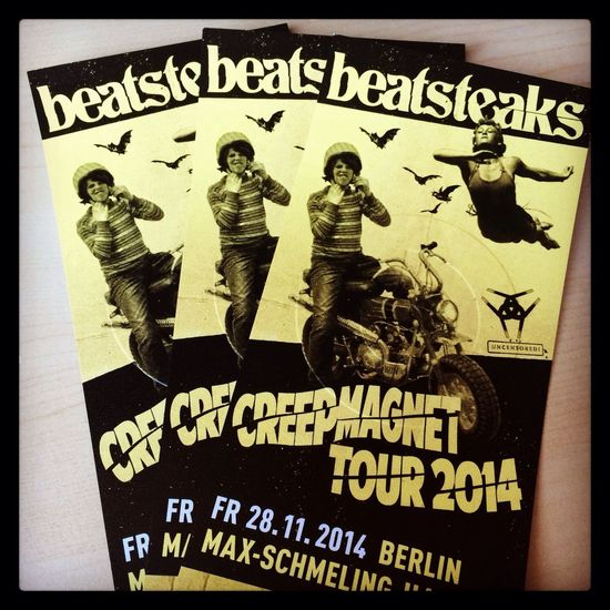 Beatsteaks Enjoying Life Rocking Out Berlin