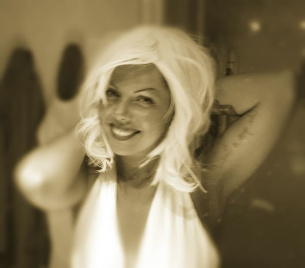 Marylin Monroe 50 Sotto Le Stelle Vintage Rock'n'Roll