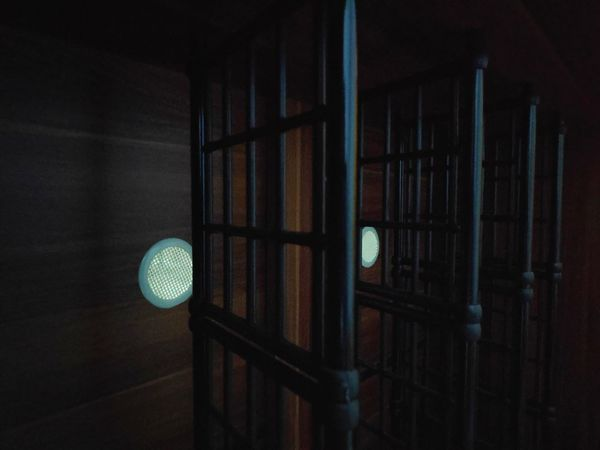 Picture Wallpaper Black Future Futures Kayu Wood Wood - Material Gelap Illuminated Prison Lighting Equipment Architecture