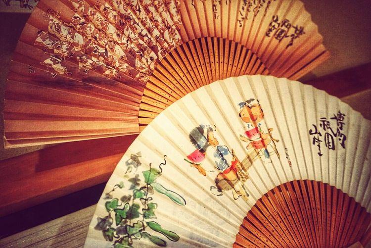 In Japan Fukuoka,Japan Hakata Japanese Festival YAMAKASA Japanese Style Interior Fan