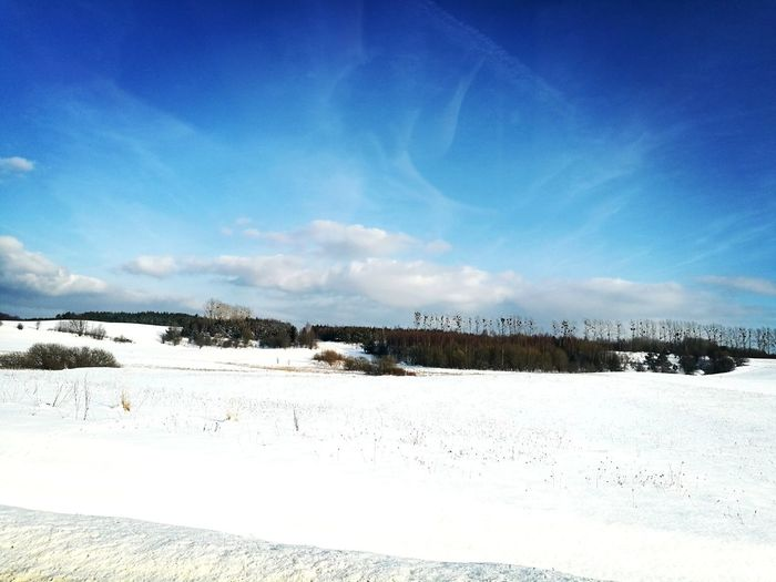 Winter #ontheroadagain #Winter #Nature  #travel #beautiful #sky #snow #picoftheday #trip