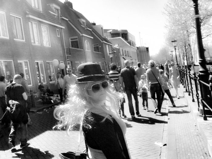 B&w Street Photography Don't look at me I wanna stay invisible. Hiding Darkness DarkGlasses Cheese! Girl Runningaway Invisiblegirl Check This Out Dutchstyle City Utrecht , Netherlands EyeEm The OO Mission Samsung Wave Mobilephotography The Street Photographer - 2016 EyeEm Awards