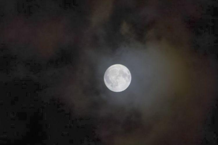 Luna en octubre