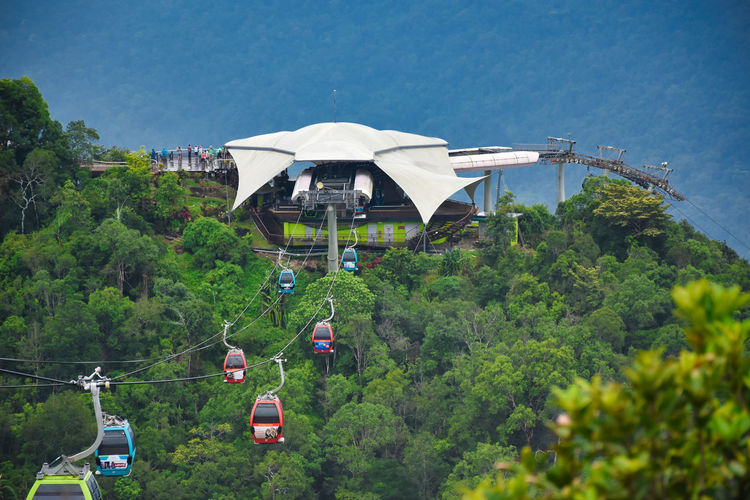 Langkawi cable car, also known as langkawi skycab, is one of the major attractions in langkawi