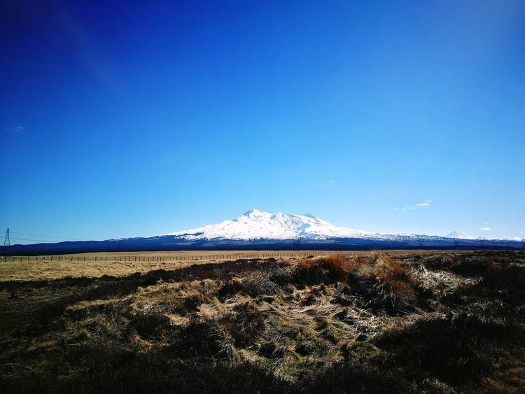 Clear Sky Mountain Snow Winter Snowcapped Mountain Mountain Range Nature Travel Destinations Beauty In Nature Desert Road Lake Taupo