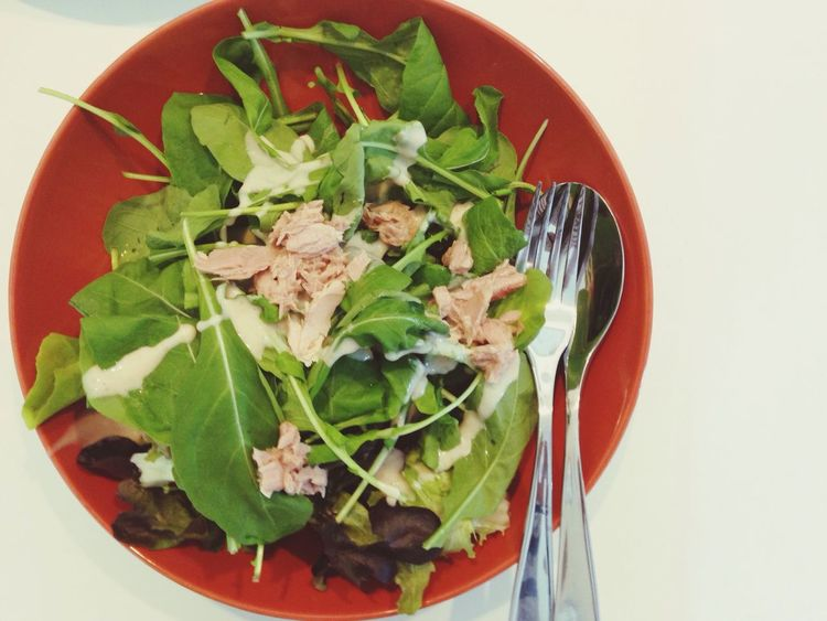 Rocket salad Homemade Salad Rocketsalad Breakfast What's For Dinner?