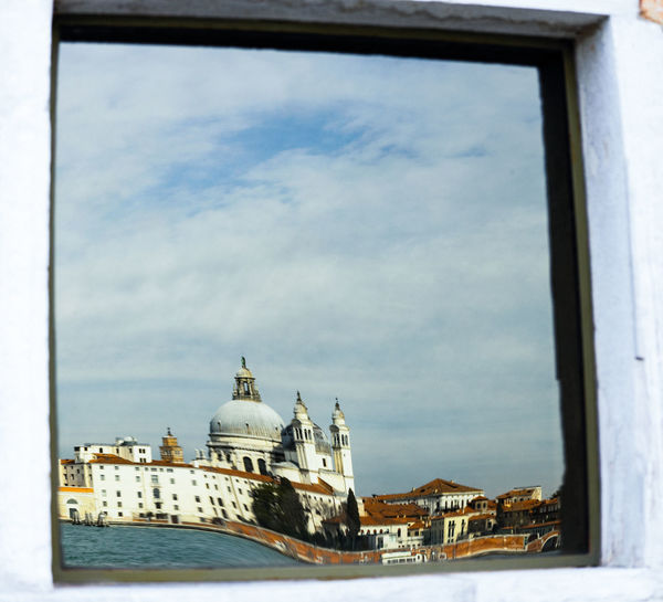 Building Exterior Architecture Built Structure Sky Religion Travel Destinations Place Of Worship Building History Dome Spirituality Belief The Past Window No People Day Nature Travel Outdoors Venice, Italy Mirror Church Canal