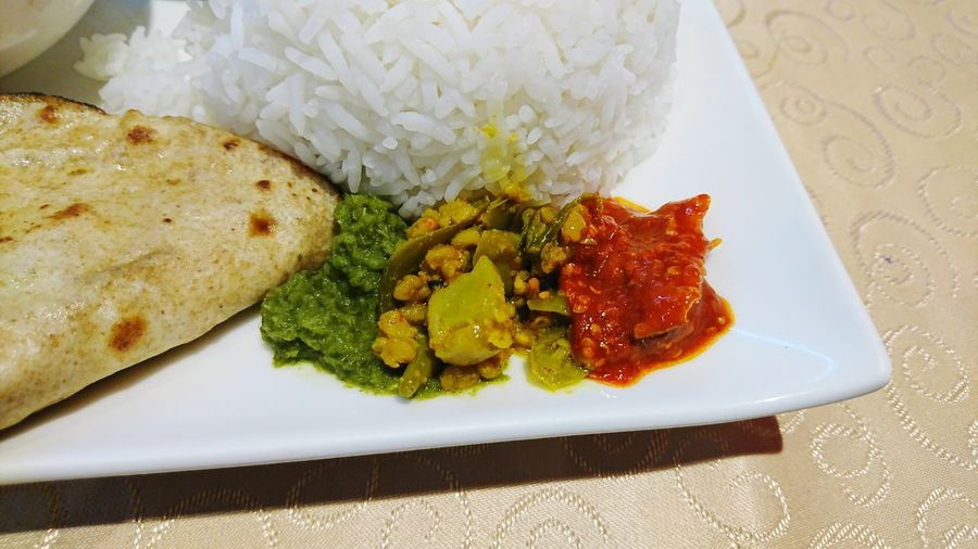 Indian food Pickle Plate Freshness Food And Drink Indoors  No People Flower Food Ready-to-eat Healthy Eating Close-up Day
