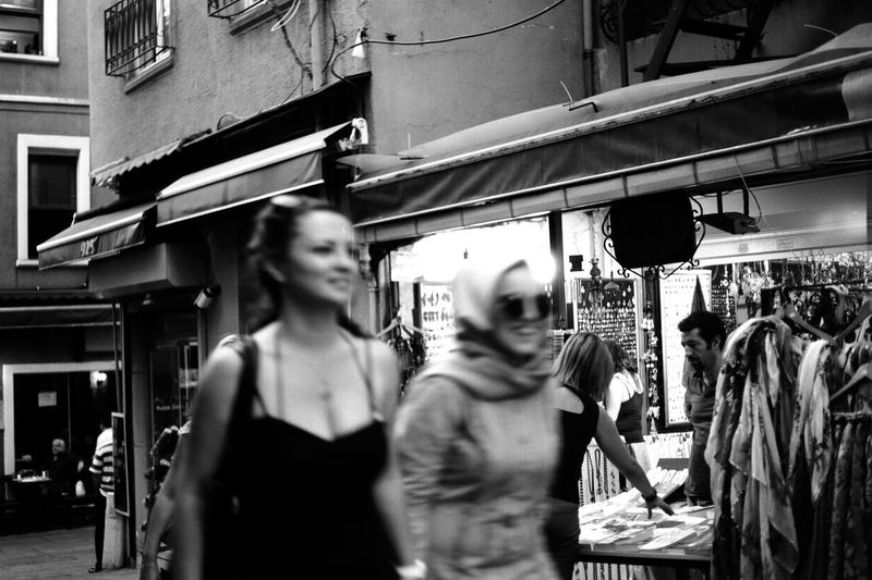 Street Photography in Istanbul B&w Photo B&w Photography Casual City Life Day Friends Friendship Islam Istanbul Istanbul Turkey Laugh Middle East Modern Muslim Outdoors Shop Shopping Smile Street Street Photography Streetphoto Strolling Turkey Turkish Walk Welcome To Black