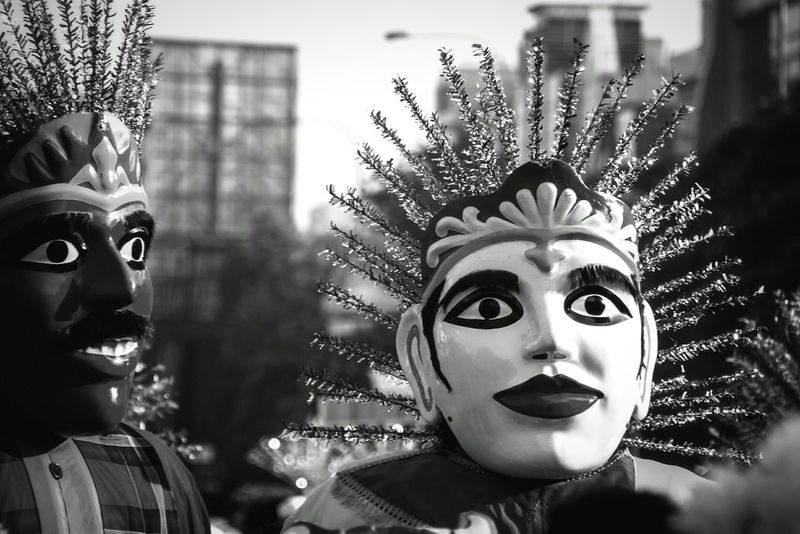 Culture Cultures INDONESIA Indonesia Traditional Betawi Betawi Culture Art Ondel-ondel Jakarta Streetphotography Streetphoto_bw Blackandwhite Blackandwhite Photography Budaya Budaya Indonesia Traditional Culture Traditional Clothing Traditional Art Check This Out