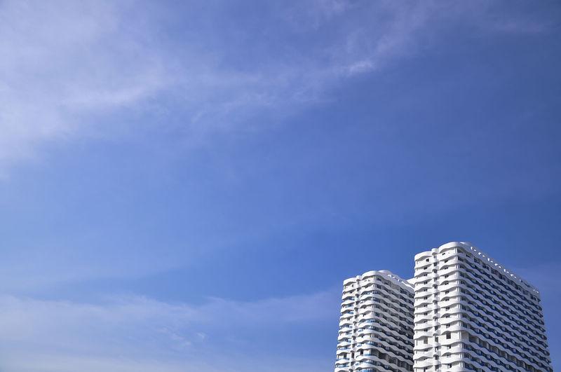 blue sky City