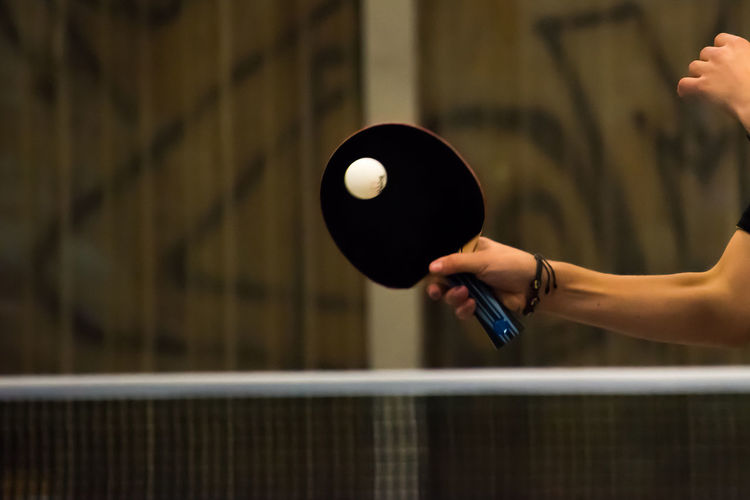 Competition Competitive Sport Go-west-photography.com Human Hand Indoor Sports Indoors  Net One Person People Playing Racket Racket Sport Real People Sport Table Tennis Tabletennis