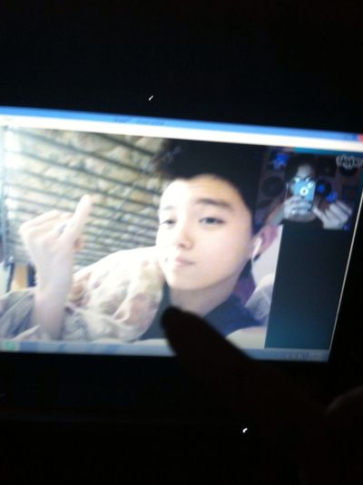 Skyping my bestfriend is always the best, I miss her so much.