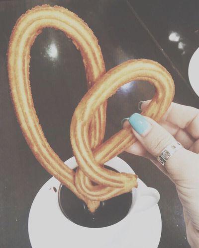 My Favorite Breakfast Moment Heart Chocolate