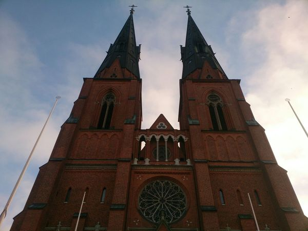 impresionante de admirar Sony Xperia Z Uppsala Domkyrka