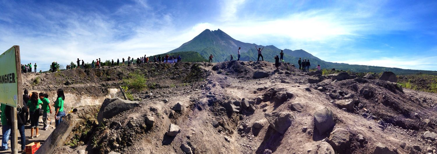 Mountains Landscape Nature INDONESIA Mount Merapi