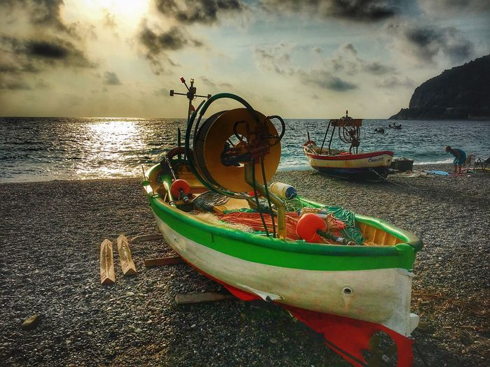 Water Cloud - Sky Sky Sea Beach Land Transportation Nature Nautical Vessel Mode Of Transportation No People Horizon Over Water Outdoors Beauty In Nature Day