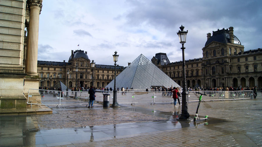 The Louvre,